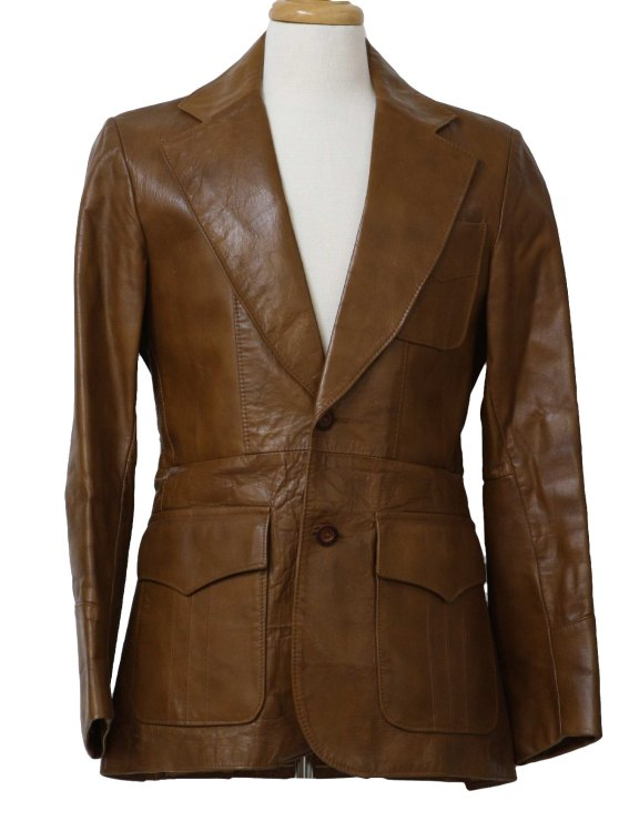 1970 mens leather jacket