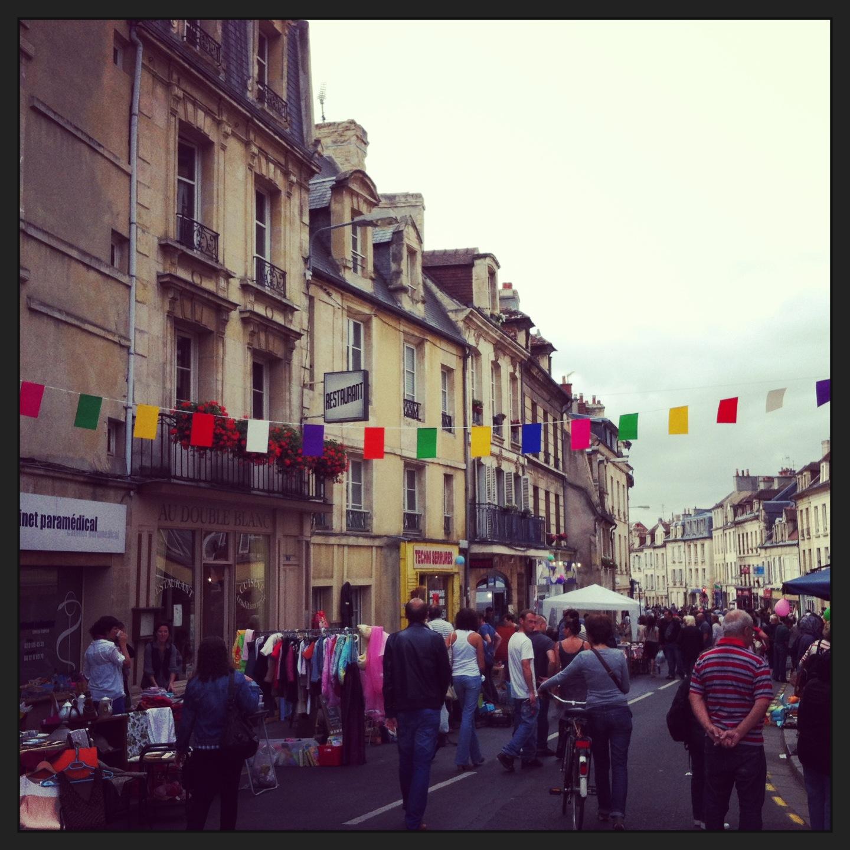 Brocante rue Caponière Insta