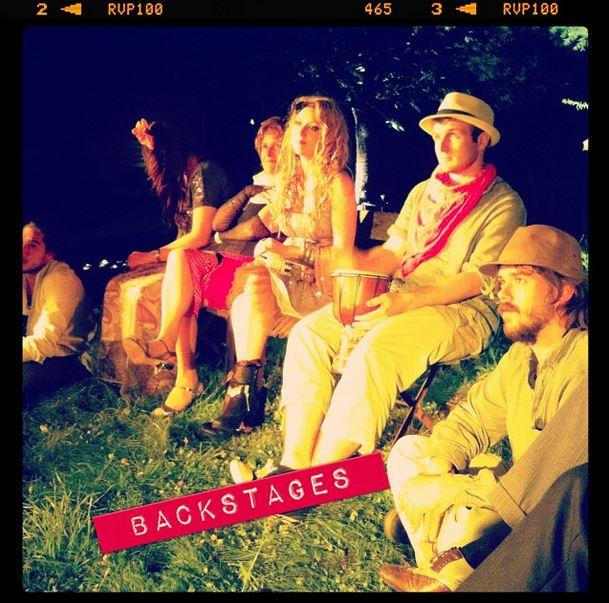 clip Backstages du clip de Lina Doran