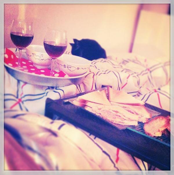 dimanche soir parfait soupe courgette croque monsieur foie gras