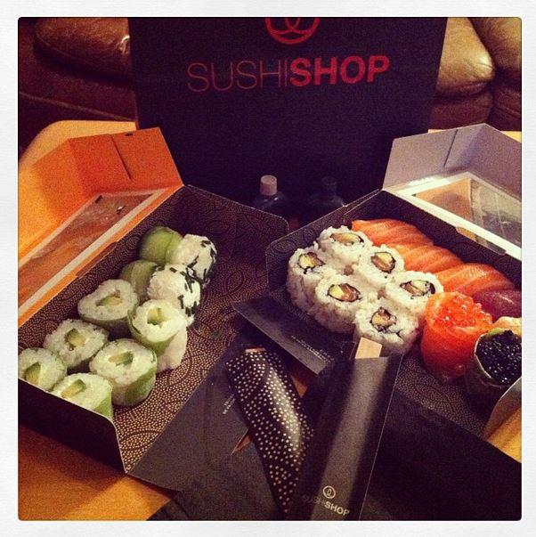 dimanche soir parfait sushi shop