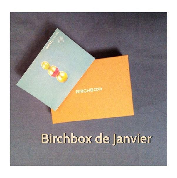 Birchbox de janvier