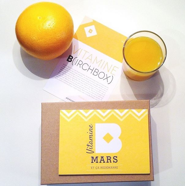 Birchbox de Mars Vitamine B
