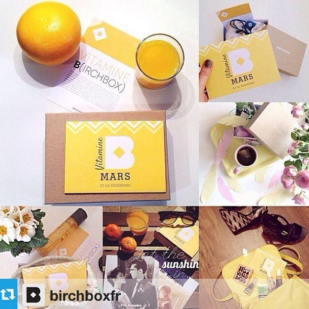 Birchbox vitamine B mars regram