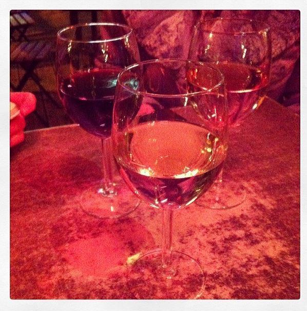 Blanc rosé rouge vin